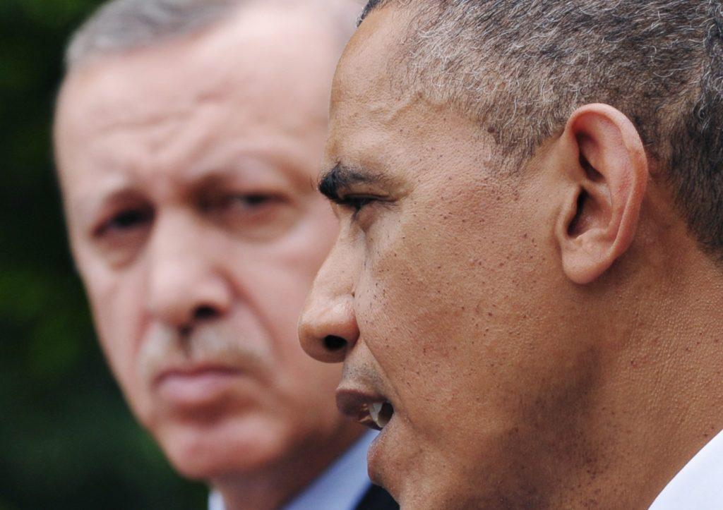 Обама и Эрдоган. Источник: Pravda-tv.ru
