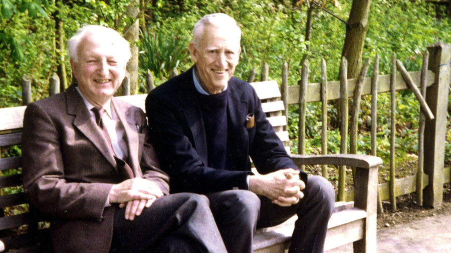Джером Селінджер (справа), 1989 / npr.org