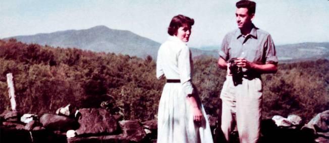 Селінджер з другою дружиною Клер Дуглас / Le Point