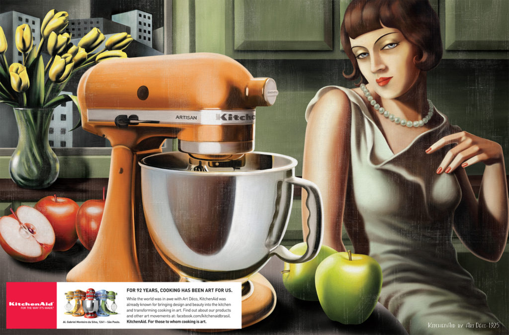 Рекламная кампания KitchenAid