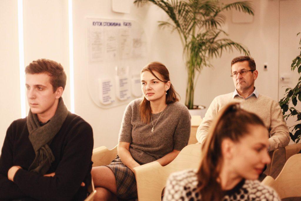 Гости дискуссии. Фото: Женя Люлько.
