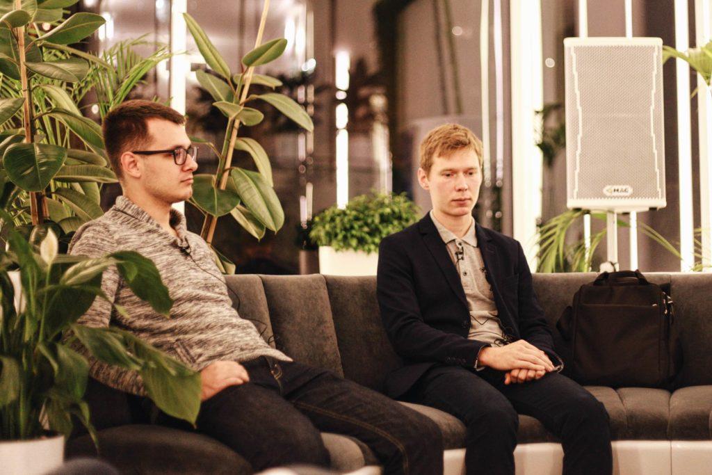 Андрей Музыченко и Сергей Волков. Фото: Женя Люлько.