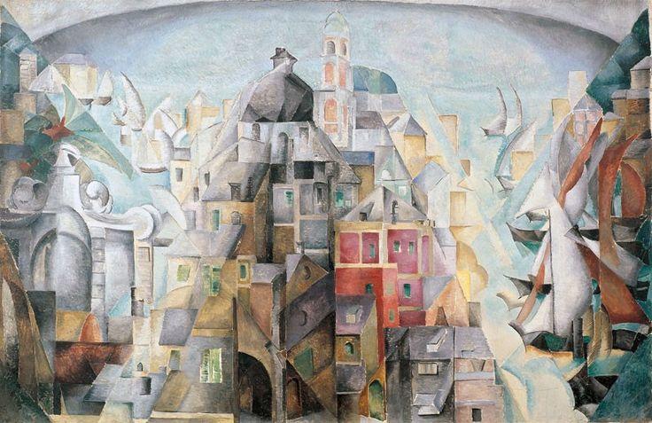 О. Екстер. Дьєп, 1912-1913. Музей Людвіга, Кельн.
