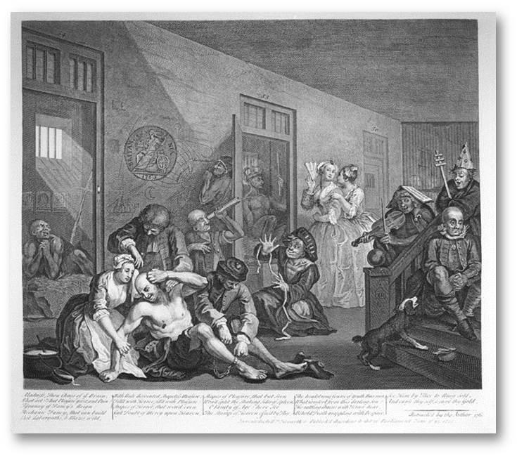 Англия Госпиталь Бетлхем, 1676 / Изображения предоставлены автором программы