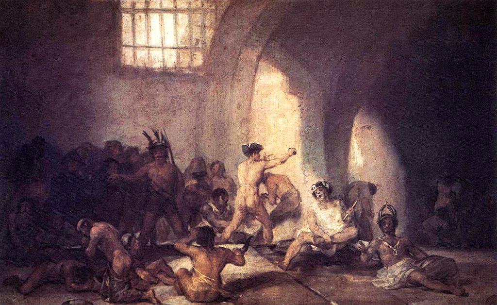 Франсиско Гойя. Дом для сумасшедших (1812-1814) / Изображения предоставлены автором программы