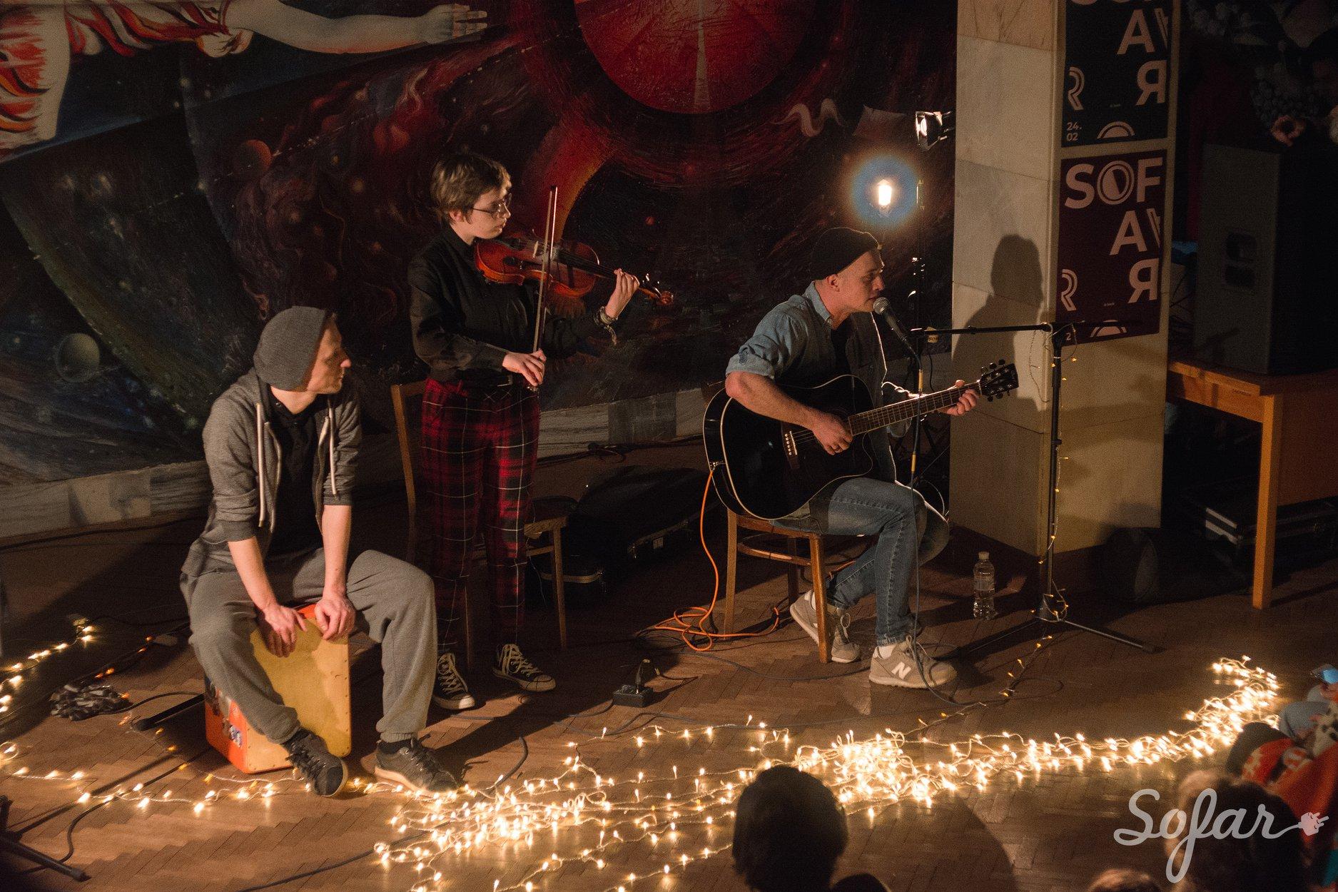Концерт у бібліотеці КПІ // Фото: Nika Popova